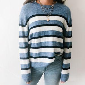 Oversized Striped H&M Sweater M